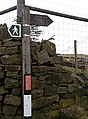 Calderdale Way, near Cross Stone - geograph.org.uk - 724925.jpg