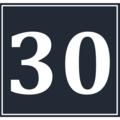 Calendar Icon 30 BW.png