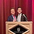 California College Republicans Chairman Nick Ortiz Presents Committeeman Dylan Martin with MVP Award.jpg