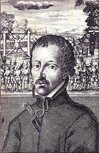 Edmund Campion - Edmund Campion, in a 1631 print.