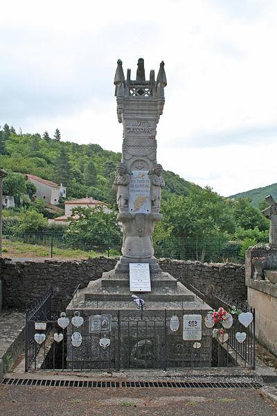 Camplong (Hérault) - monument aux morts.