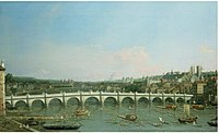 Canaletto - Westminster Bridge from the North with the Lord Mayor's Procession.jpg