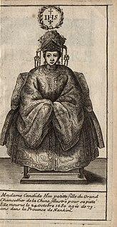Candida Xu Chinese Christian patron of early Qing