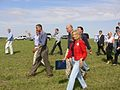 Candidates walking and talking and waving (1404444807).jpg