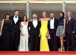 Doug Mitchell (film producer) - Doug Mitchell (right) with the cast and crew of Mad Max: Fury Road at the 2015 Cannes Film Festival.