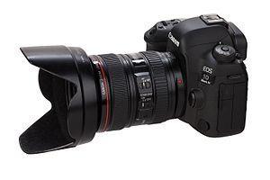 Canon EOS 5D Mark IV - With lens