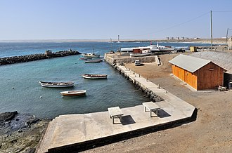 Palmeira, Cape Verde - The Port of Palmeira, one of three of the island's ports