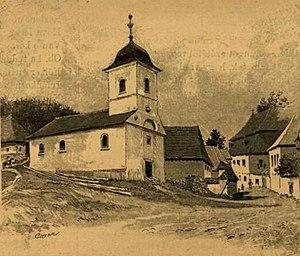 Roșia Montană - Roșia Montană in 1890
