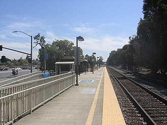 Capitol station (Caltrain) - Capitol station in September 2012