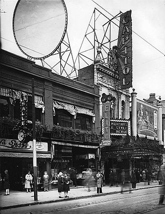 Saint Catherine Street - Former Capitol Theatre, 1925