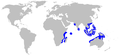 Blackspot shark geographic range