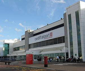 English: Cardiff International Airport
