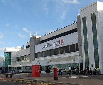 Cardiff Airport - Image: Cardiff Airport (Oct 2010)