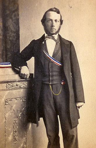 Carl Gräbe - Carl Gräbe in 1860