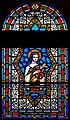 Carl Huneke's stained glass window - Saint Therese, The Little Flower at St. John the Baptist Church in Healdsburg, CA.jpg