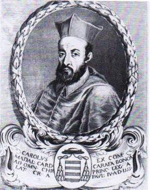 Carlo Carafa - Carlo Carafa as cardinal