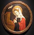 Carlo braccesco (cerchia), madonna annunciata, 1450-1500 ca., collez. privata.JPG
