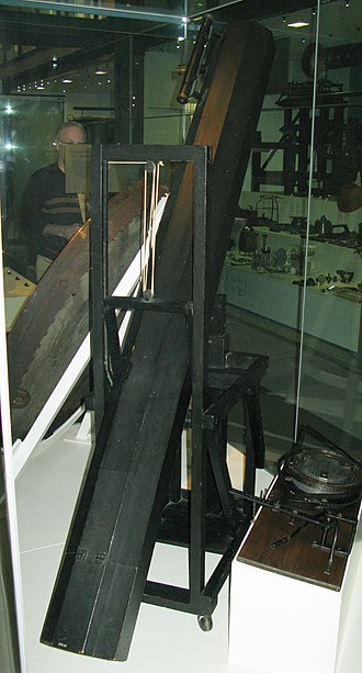 Caroline Herschel - A telescope that William Herschel made for Caroline 1795