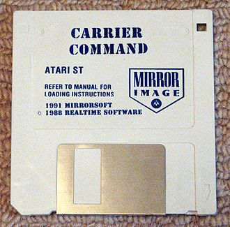 Carrier Command - Carrier Command disk for the Atari ST
