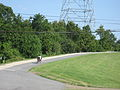 Carrollton Riverbend Levee Aug 2009 Chair Bike.JPG