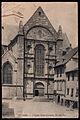 Carte postale ancienne de l'Église Saint-Germain de Rennes vers 1916.jpg