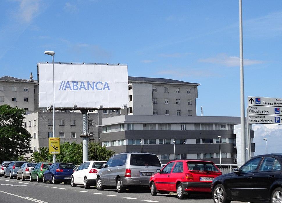 Cartel ABANCA Coruña