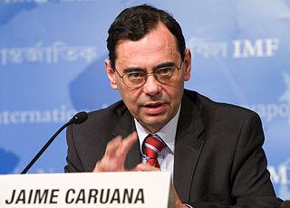 Jaime Caruana Spanish economist and engineer