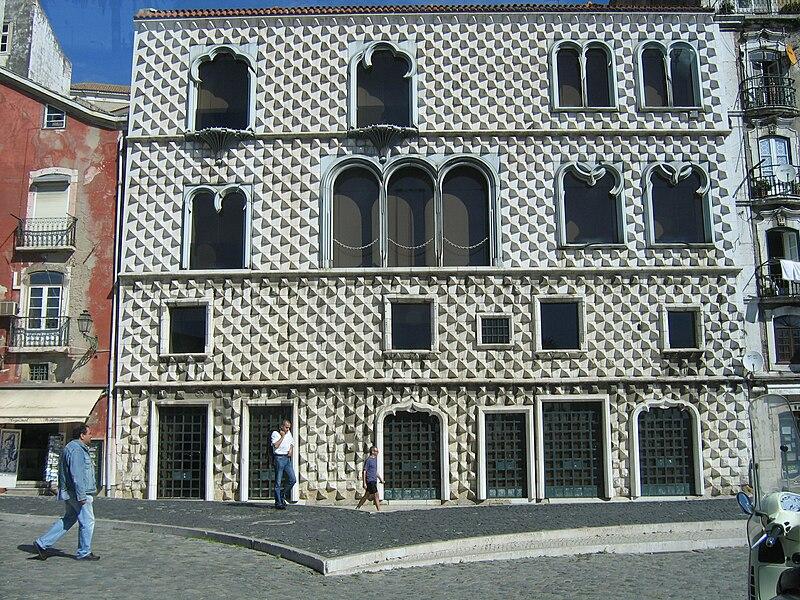 Casa dos Bicos em Lisboa