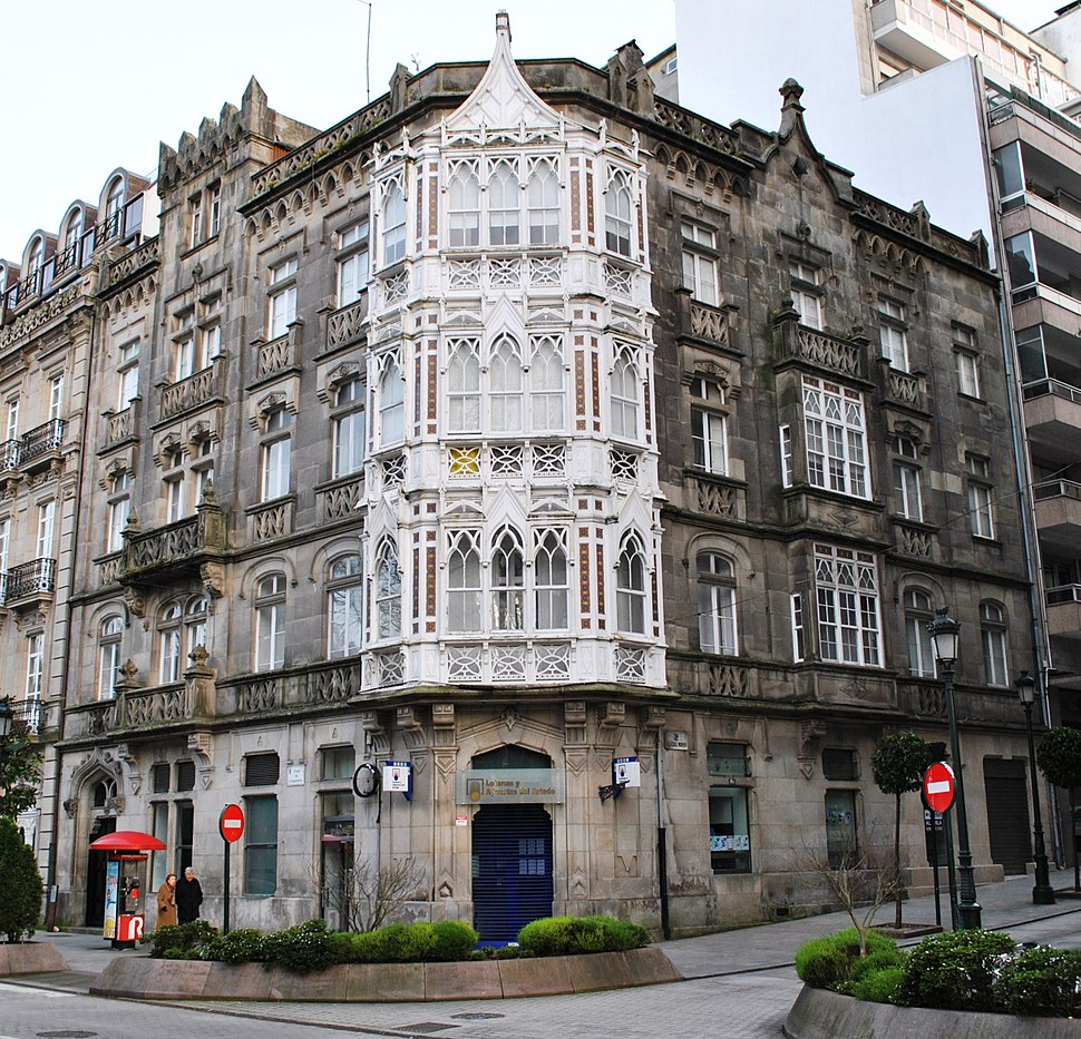 Casa Yáñez, Praza de Compostela.