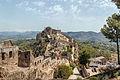 Castell de Xàtiva Castell Menor from Castell Major 01.jpg