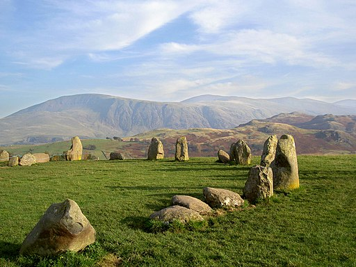 Castlerigg Stone Circle - geograph.org.uk - 590652