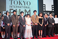 "Casts & Crew from ""Sakura no Ame"" at Opening Ceremony of the 28th Tokyo International Film Festival (21806824783).jpg"