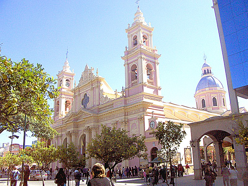 salta cathedral, argentina
