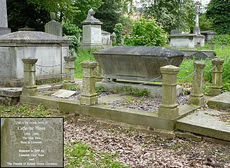 Catherine Hayes (soprano) - Catherine Hayes's grave at Kensal Green Cemetery, London, pictured in 2014