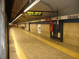 Cavour (Rome Metro) - Image: Cavour Metropolitana di Roma