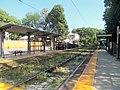 Cedar Grove station facing south, August 2016.JPG