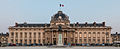 Central building of Ecole Militaire at dusk, Paris 7e 20140607 1.jpg