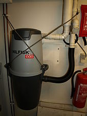 Central vacuum cleaner - Wikipedia