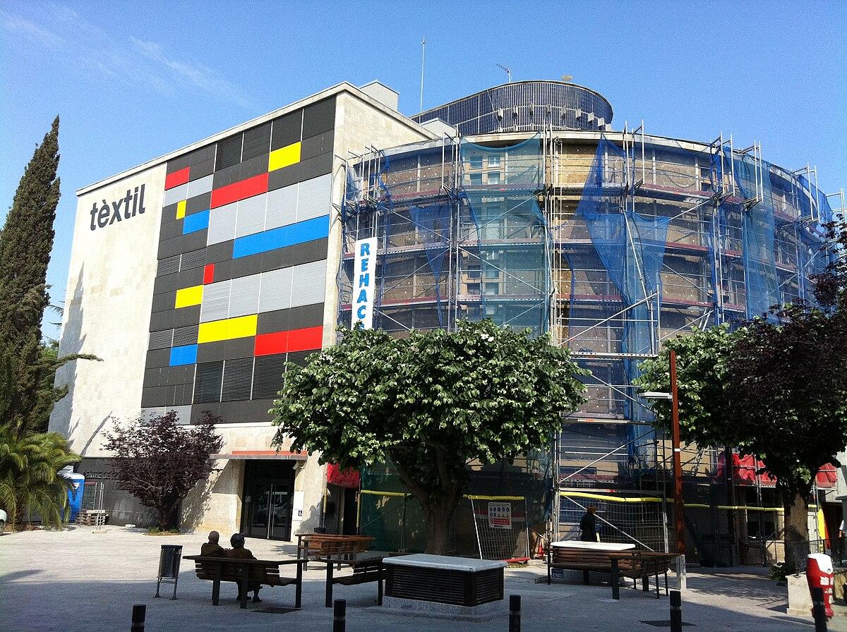 Centro de documentaci n y museo textil wikipedia la enciclopedia libre - Arquitectos terrassa ...