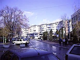 Drăgășani - Image: Centru dragasani