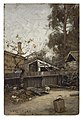 Charles Conner - A California Back Yard - 73.105.5 - Indianapolis Museum of Art.jpg