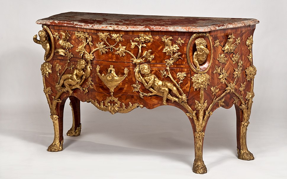 Charles Cressent, Chest of drawers, c. 1730 at Waddesdon Manor