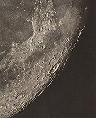 Carte photographique de la lune