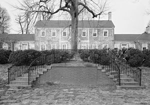 Chatham Manor - Chatham Manor, Historic American Buildings Survey