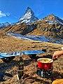 Cheese fondue in front of the Matterhorn.jpg