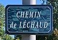 Chemin de Léchaud (Belley) - panneau de rue.jpg