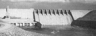 National Register of Historic Places listings in Jefferson County, Tennessee - Image: Cherokee dam tva 1