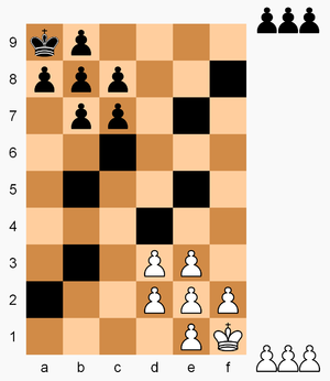 Chessence - Chessence gameboard and starting setup