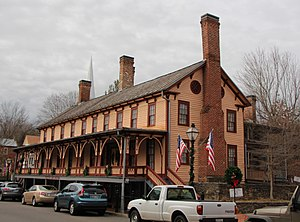 Washington County, Tennessee - Chester Inn, one of many historic buildings in Jonesborough