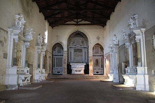 Chiesa di San Francesco (Asciano) interno